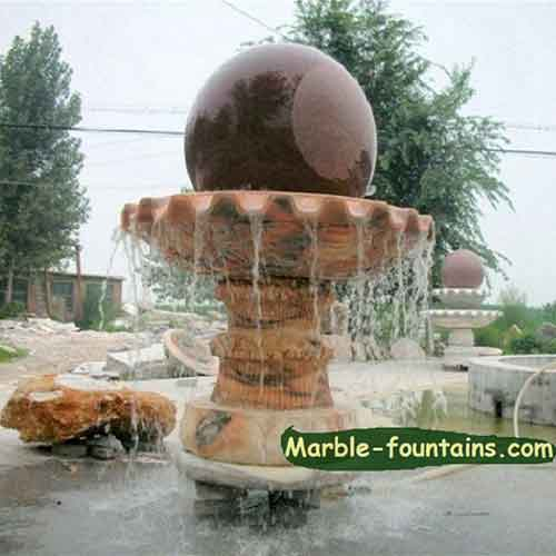 round-sphere-water-fountains