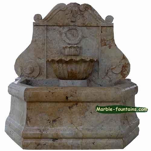 Carrara Wall Fountain