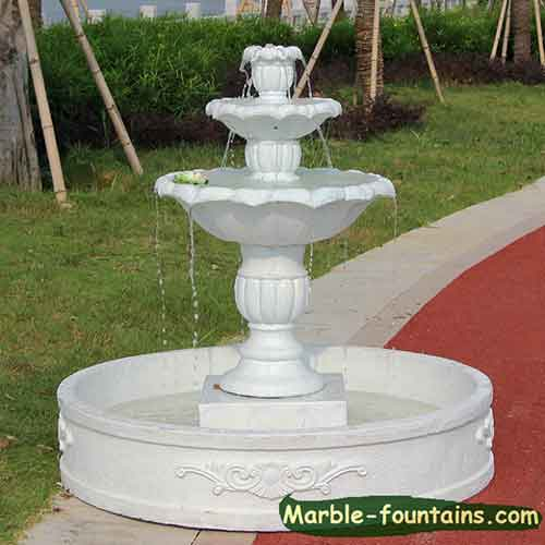 Ordinaire 2 Tier Water Fountain