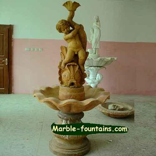 Fish Fountain Pedestal