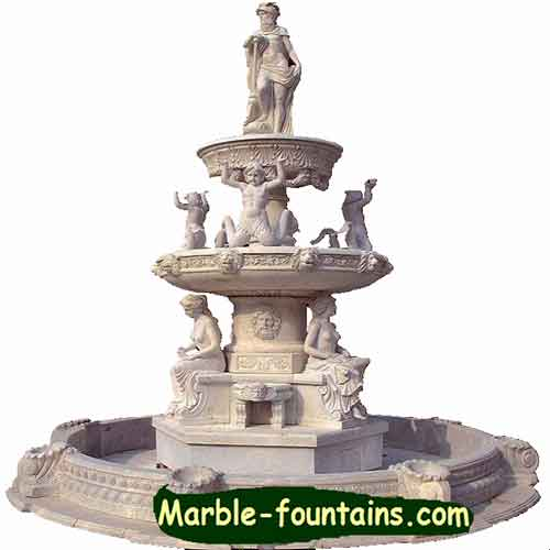 Greek Fountain Statues