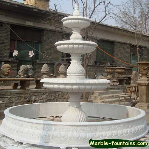 Decorative water fountains outdoor trend for Ornamental garden features